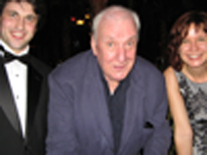 With Maestro Richard Rodney Bennett